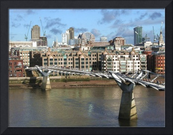 Millenium Bridge London England