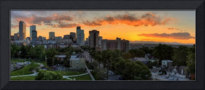 Uptown sunset (Pano)