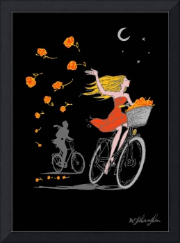 Bike Girl by Ed Fotheringham