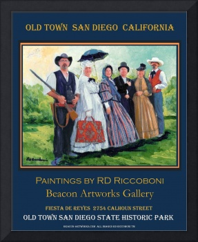 Riccoboni - Old Town San Diego Poster