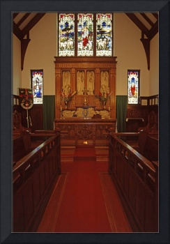 Chancel, Holy Trinity Vancouver, the Old Church