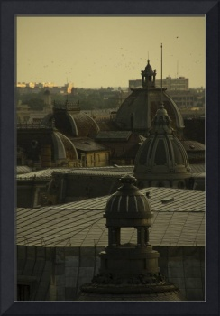 Bucharest Roofs