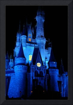 Disney World Cinderella Castle at Christmas
