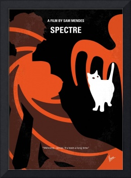 No277-007-2 My Spectre minimal movie poster