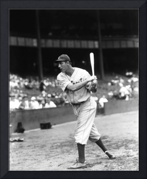 Hank Greenberg pre game swinging