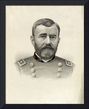 Vintage Portrait of General Ulysses S. Grant
