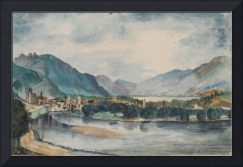 Albrecht Durer~Trento, View from the North