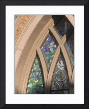 Brownstone Church Stained Glass