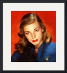Lauren Bacall by Charmaine Zoe