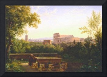 View of the Colosseum from the Orti Farnesiani, 18