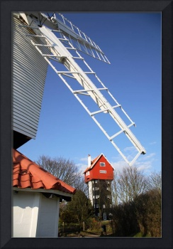 mill with house in the clouds thorpeness