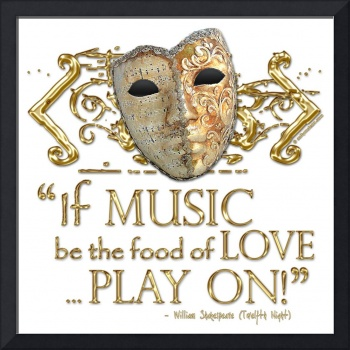 Twelfth Night Music Quote