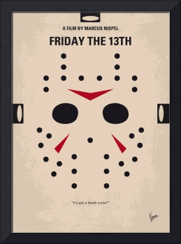 No449 My Friday the 13th minimal movie poster