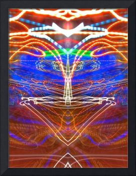 ABSTRACT LIGHT STREAKS #72
