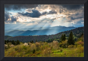 Blue Ridge Parkway North Carolina Mountains Gods