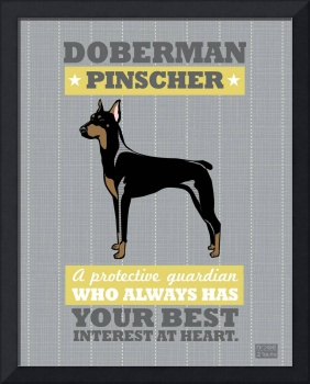 Doberman Gary/Gold