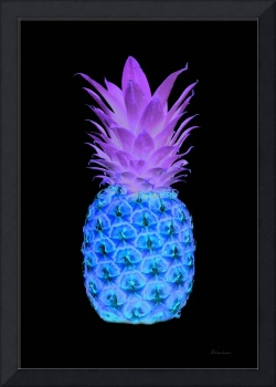 14a Abstract Expressive Pineapple Digital Art
