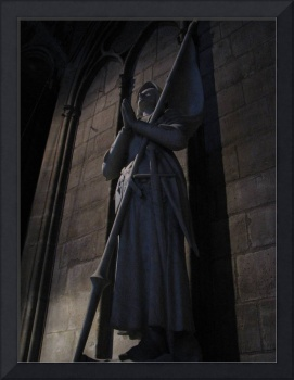 Joan of Arc within Notre Dame