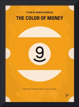 No089 My The color of money minimal movie poster