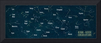 Autumn and Winter Constellations
