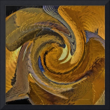 Bold Golden Abstract
