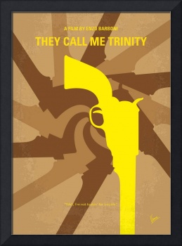No431 My They Call Me Trinity minimal movie poster