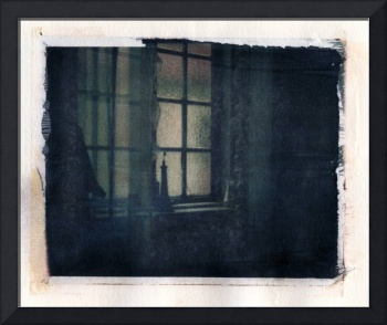 1960s French Hotel Room Polaroid Image Transfer