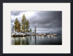 Sand Harbor Snow by David Smith