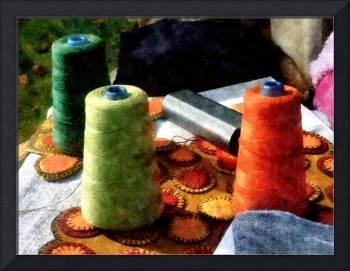 Large Spools Of Thread
