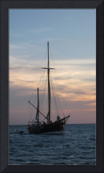 Sunset in Aruba with Clippership