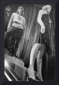 Shop dummy female mannequins black and white 35mm