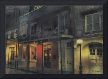 Foggy Night on Dumaine