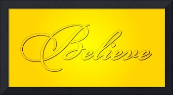 believe all yellow