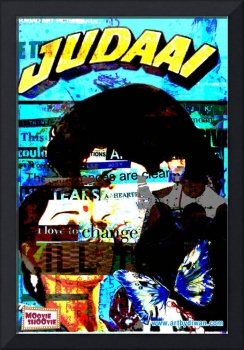 Retro Bollywood Poster - Judaai