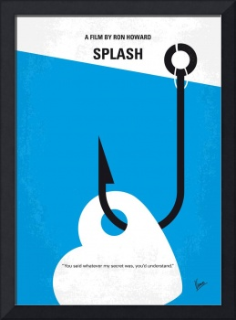 No625 My Splash minimal movie poster