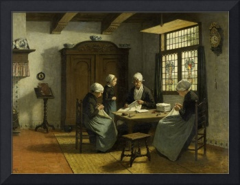 In the Orphanage at Katwijk-Binnen, David Adolph C