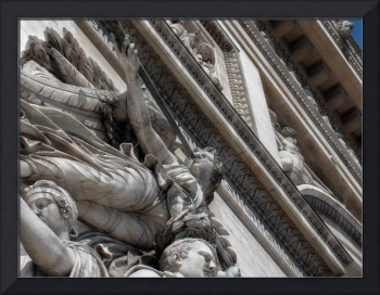 Arc de Triomphe detail #3 edit 2