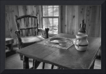 Dining Room, James Marshall Cabin