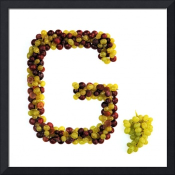 Kitchen Alphabet. Letter G