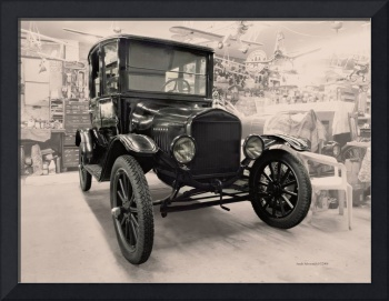 Model-T Workshop in Sepia