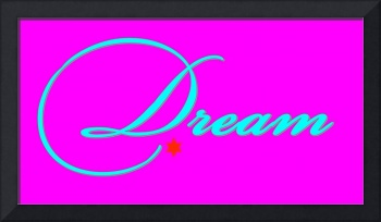 dream teal on bright pink