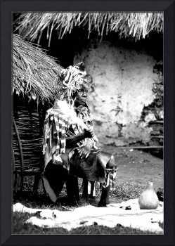 The Witch Doctor B&W