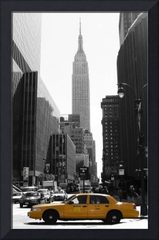 Empire state and NYC Taxi