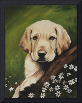 yellow lab painting 004a