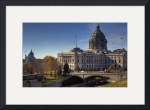 St Paul Capitol and Cathedral by Mark Cullen