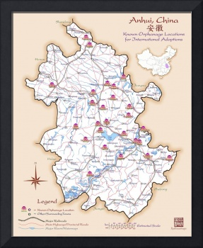 Anhui China Orphanage Location Map v1.3