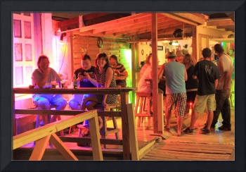 Nightlife in Grand Case Saint Martin