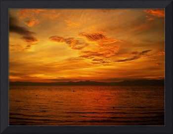 red sunset no. 31 – the lacquered skies