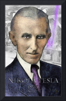 Tesla age 77 in 1933