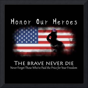 Honor Our Heroes On Memorial Day